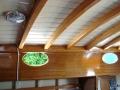 'Phyllis' interior ceiling.