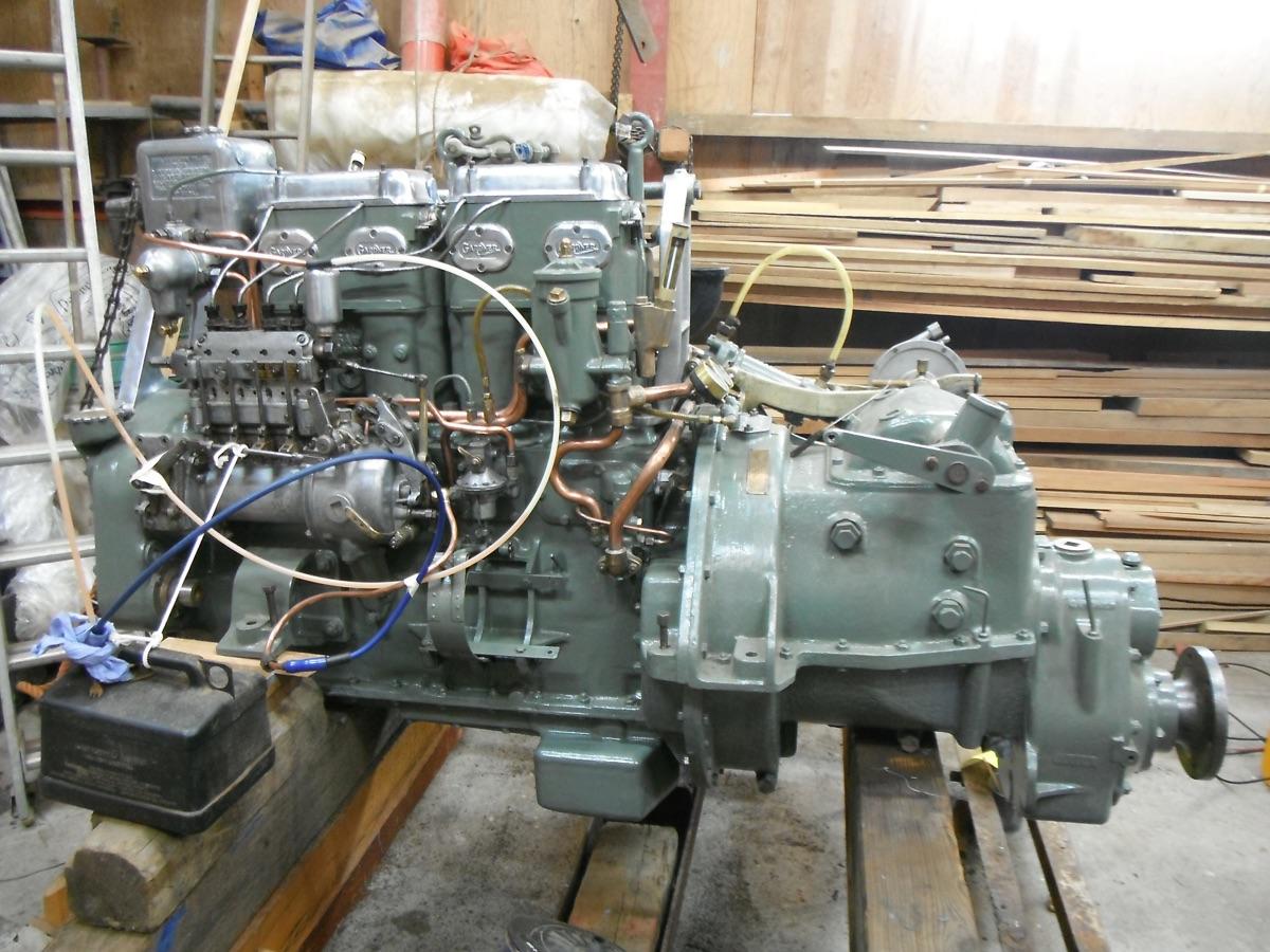 Gardner Engine | Wooden Boatbuilders